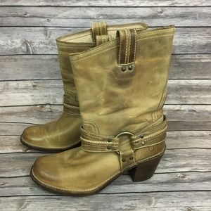 Frye Carmen Harness Short Boot